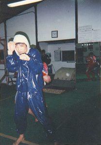 シャドーボクシングのトレーニング